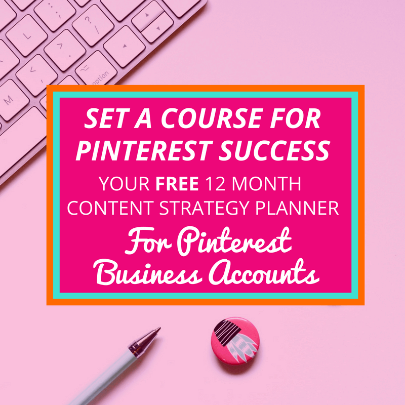 Pinterest Content Strategy