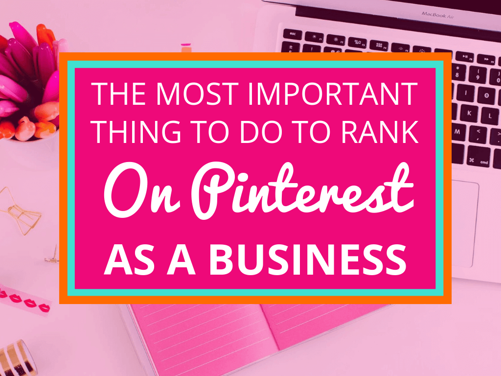 Do you want potential customers to discover your business on Pinterest? There is one important thing you need to know about, using keywords on Pinterest!